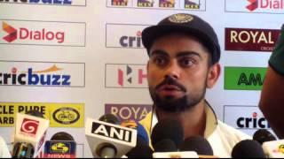 3rd Test Post Match Press Conference - Virat Kohli after winning the Test Series against Sri Lanka