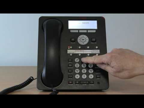 13. Avaya Telephone System - Voice Mail Access on the 1408