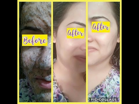 Miracle gel mask for glowing,fair,spotless skin with chia(Sabza)seeds.