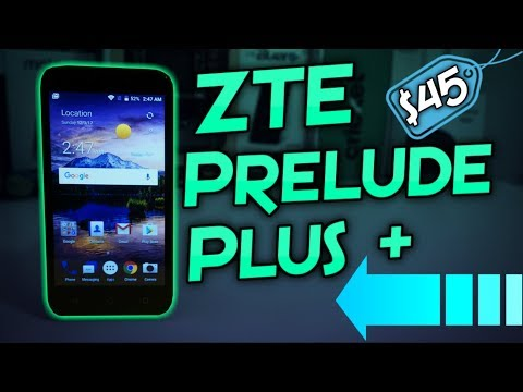 ZTE Prelude + (Plus) Unboxing & First Impressions