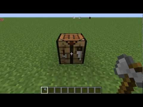 How to Make an Axe in Minecraft