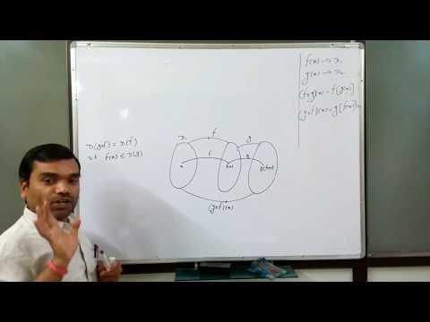 Function - Composition of functions & its Domain II फलनो का संयोजन व उनके डोमेन (Lecture 8)