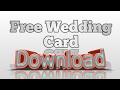 Wedding Card Free Download Crd File || Corel Draw || Hindi Wedding Card