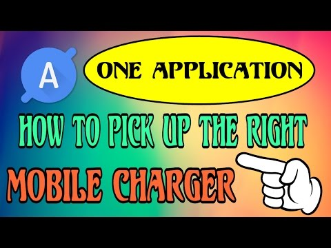 How to Pick the Right Mobile Charger?| This Android Application will help You! | Very Useful for all