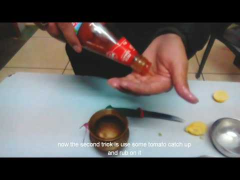 DIY How to clean copper at home easy.(in hindi )