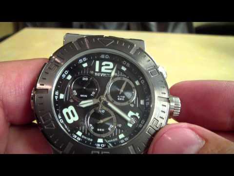 Invicta Ryan - Recalibrating an ETA G10.211 Movement in a Watch