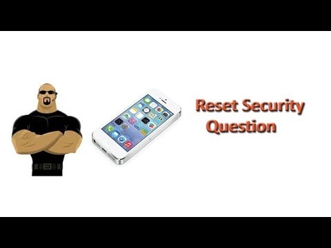 How to Reset Security Question for Apple ID
