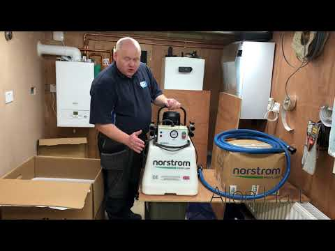 Norstorm Proflush Powerflushing System unboxing and first look