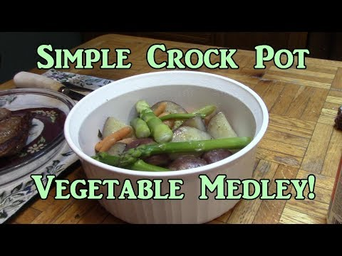 Crock Pot Vegetable Medley