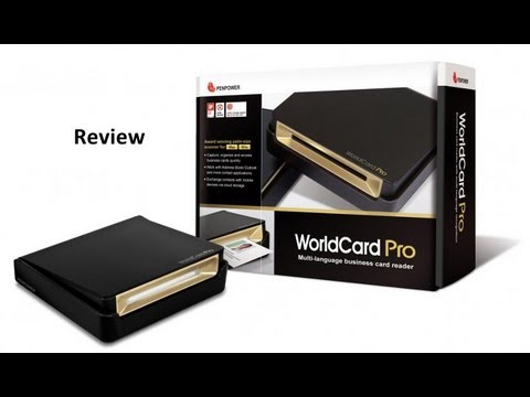 Review:  Scanner for Business Card - Penpower WorldCard Pro Scanner & Reader