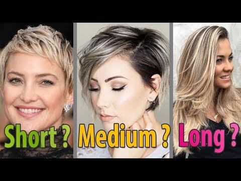 New Hairstyles for Women l Short, Medium, Long Haircuts