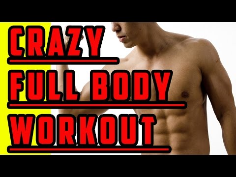 HOME FULL BODY WORKOUT - CRAZY ABS & FULL BODY WORKOUT