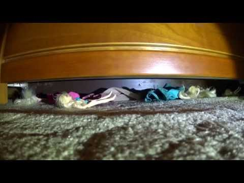 vacuuming toys under my bed