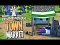 SELLING CLOTHES ON THE MEGA MARKET AND GETTING RICH - Foundation Gameplay
