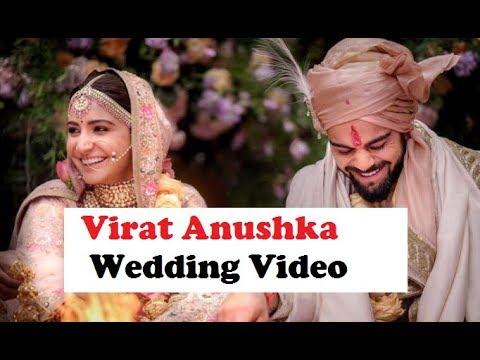 Virat Anushka complete wedding video