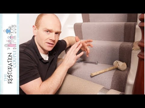 Fitting a Stair Carpet Runner