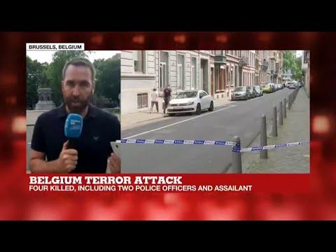 Belgian prosecutors: gunman was recently released from prison