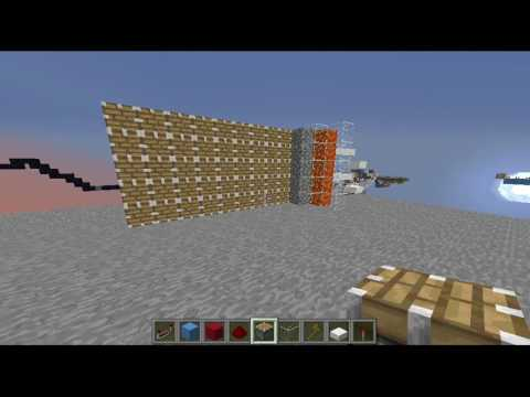Minecraft: EASY! Automatic Cobblestone Generator! SKYBLOCK FRIENDLY! (TUTORIAL)