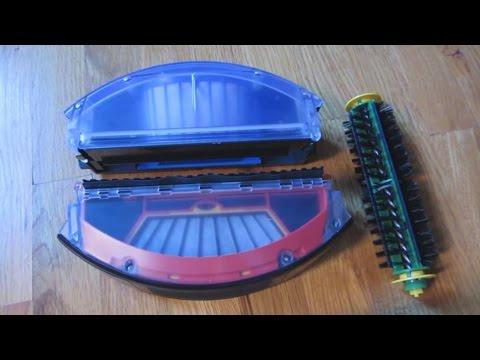 iRobot Roomba - AeroVac Bin vs Standard Bin Up Close