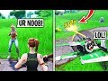 I Met A Toxic 12 Year Old In Fortnite Playground Fills Then DESTROYED Him He Cried