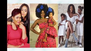 8 Nollywood Celebrities Who Look Exactly Like Their Daughters