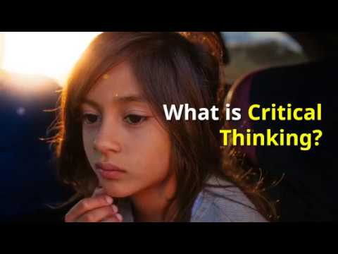Why is it important to teach kids critical thinking skills