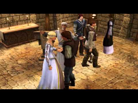 The Sims Medieval - Queen gets Married