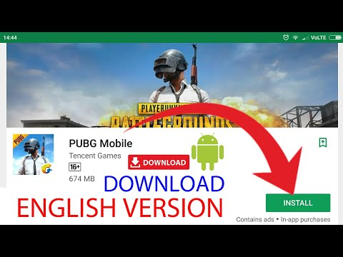 PUBG ANDROID ENGLISH VERSION | DOWNLOAD NOW | APK+DATA