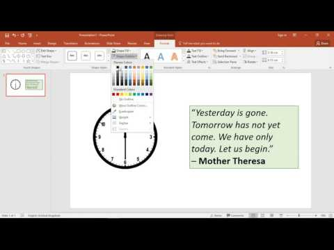 PowerPoint Animation Clock Effect - Animate Clock Hands in PowerPoint