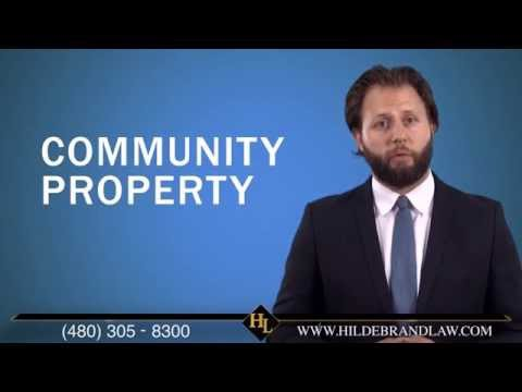 Changing Separate Property Into Community Property in Arizona