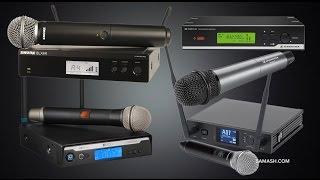 Hand-Held Wireless Microphone System Roundup - Under $400