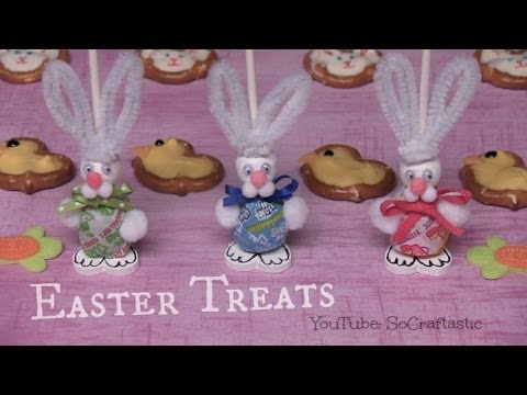 CUTE EASTER TREATS - How To | SoCraftastic