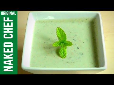 Yogurt Mint Sauce How to Make Raita dip