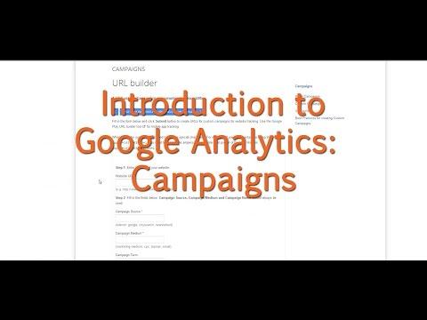 [Tutorial] Google Analytics - Campaigns