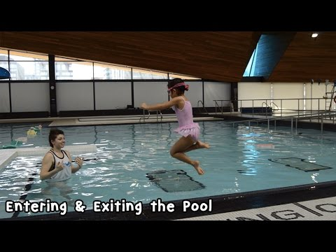Step 1: Enter & Exit the Water Safely | Learn How to Swim with AquaMobile