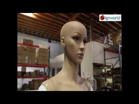 Sign Mannequin Robot Setup