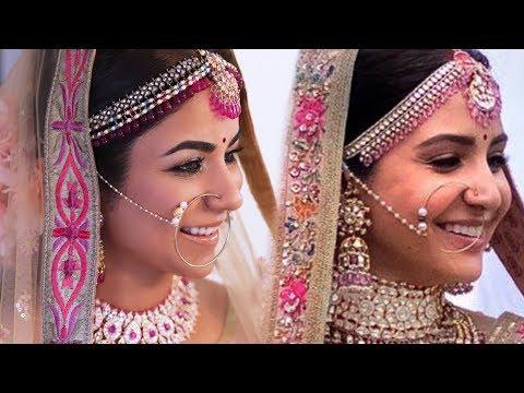 ANUSHKA SHARMA WEDDING MAKEUP & HAIRSTYLE  FULL VIDEO I SmithaDBeauty