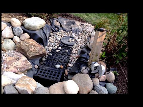 DIY Backyard Waterfall Project