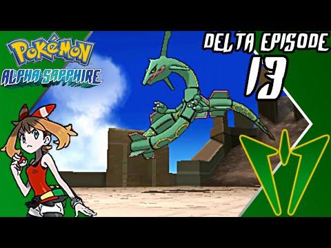 Pokémon Alpha Sapphire - Delta Episode (Part 13) - Catching Rayquaza - Gameplay Walkthrough