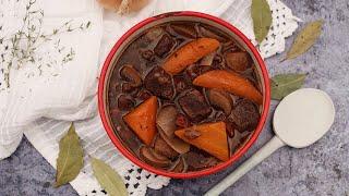 Burgundi marharagu slow cookerben | Mindmegette.hu