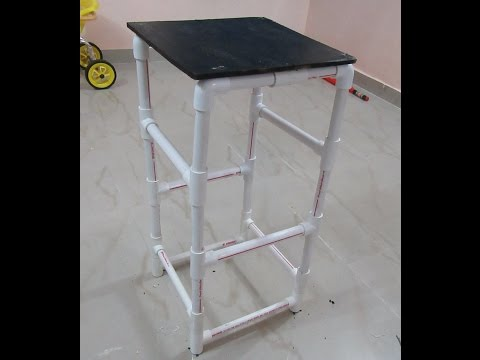How To Make  A STOOL With PVC PIPE