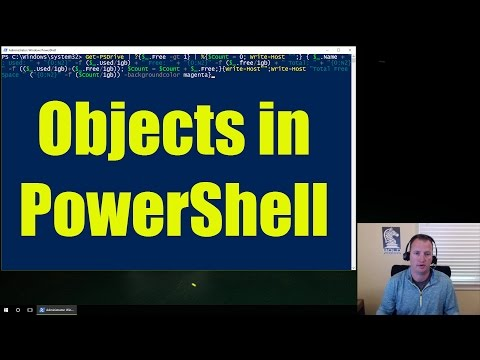 Manipulating Objects in Microsoft PowerShell - Video 2