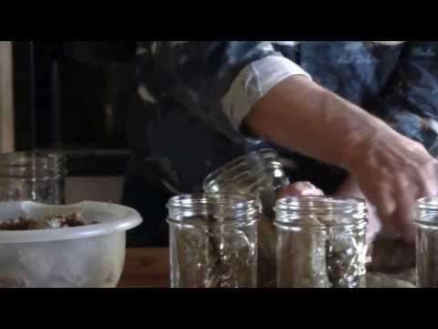Canning Deer Bratwurst