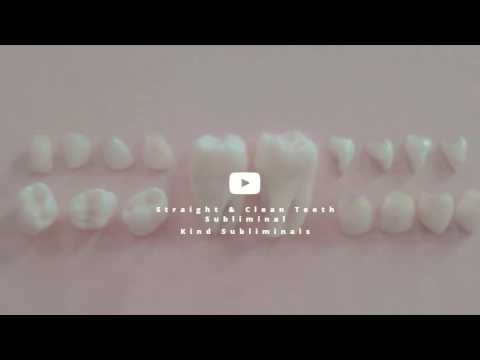 Straight & Clean White Teeth x  Subliminal - Kind Subliminals