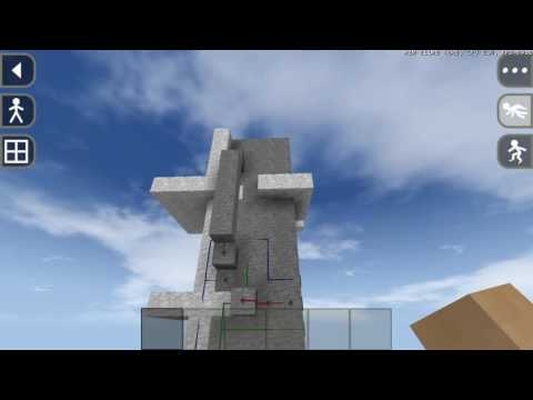 Survivalcraft  2 piston elevator and piston door