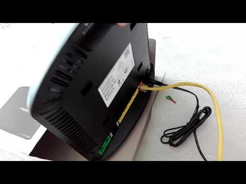 Maxis fibre optic installation