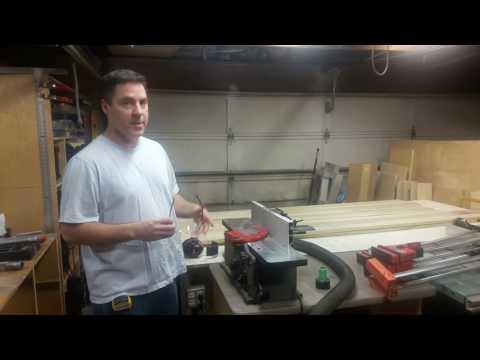 Building Double Barn Doors: Glue-ups 2