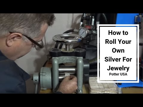 How to Roll Your Own Silver For Jewelry