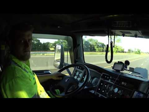 4767 Riding with Nick. The tow truck driver