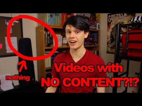 YouTube videos with NO CONTENT?!?